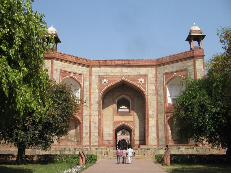 Gateway, Humayun's Tomb, Delhi